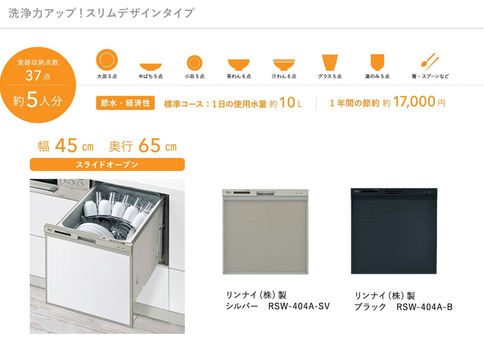 食器洗い乾燥機404A紹介